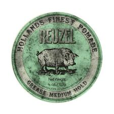 Reuzel Green Pig Pomade Grease Medium Hold 113g X 2
