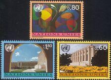UN (G) 1994 Palais de Nations/Building/Architecture/Art/Tapestry 3v set (n45902)