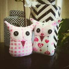 ❤️Owl Softies ❤️ Baby Pink Hearts Checkered | MiniMe Sets | Baby | Girls | Gifts