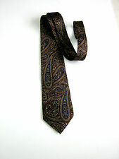DUNHILL LONDON NUOVA NEW PAISLEY MADE IN ITALY 100% SETA  SILK ORIGINALE