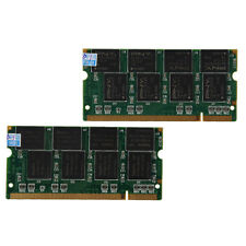 S117 2 X1GB PC2700 DDR333 Non ECC 200-Pin Memory CL2.5 Portatil (SODIMM) (RAM)