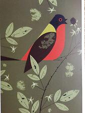 Charley Charles Harper   Painted Bunting  Bird New  Art print raspberry