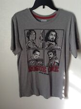 Star Wars Rogue One Shirt Size Large Darth Vader Luke Grey Red