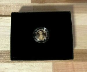 American Eagle 2021 One-Tenth Ounce Gold Proof Coin 21EEN IN HAND
