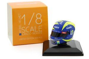 Spark 1/8 Scale Lando Norris McLaren 2019 Italian GP Helmet Valentino Rossi F1 1