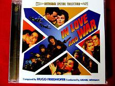 In Love and War/Woman Obsessed LN CD OOP Hugo Friedhofer Intrada film soundtrack