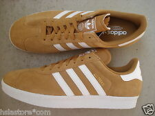 Adidas Gazelle II 45 1/3 Originals Wheat/Runwht/Melgol