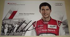 Le Mans 2012 3rd Place - FIA WEC Audi R18 Ultra #4 Mike Rockenfeller Signed Card