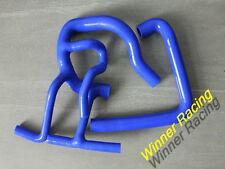 FOR ROVER CLASSIC MINI COOPER S MPI 1275 1997-2001 SILICONE HOSE BLUE