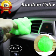 Cleaning Gel 4 Pcs for Car Detailing Tools Keyboard Cleaner Automotive Dust US