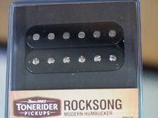Tonerider Rocksong F Spaced Bridge Pickup Black - Humbucker