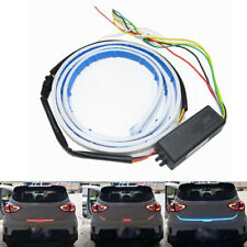 LED Car Trunk Tailgate Rear Flow Brake Turn Signal DRL Strip Light Contro Relay