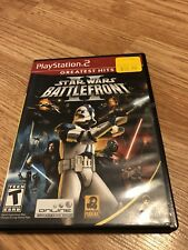 Star Wars: Battlefront II Sony PlayStation 2 PS2 Black Label Good Shape VC3
