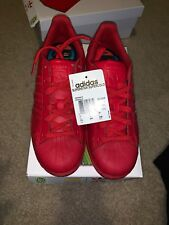 Pharrell Adidas Superstar Red