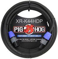 100ft PigHog NEUTRIK SpeakON/SpeakOn 2C/14AWG Pro-Audio Tour Grade Speaker Cable