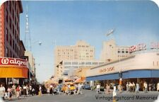 PHOENIX AZ 1955 Central Avenue at Washington Street Old Cars Stores & People GEM