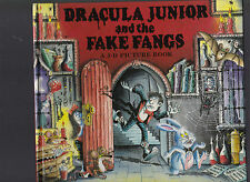 Dracula Junior and the Fake Fangs: A 3-D Picture Book, Julianna Bethlen 1996 1st