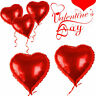 """36"""" Red Heart Love Foil Helium Balloons Valentines Wedding Engagement Party UK"""