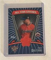 2005 Topps Carlos Beltran ALL STAR STITCHES Jersey Card Workout Day Relic Mets
