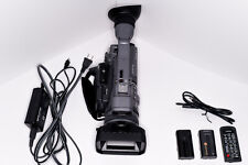 Sony Handycam Hdr-Fx7 Dv Camcorder with Accessories + Spare Battery + Og Box