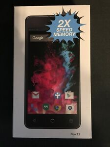 BLACK FRIDAY NOW! BRAND NEW ALL ACCESSORY LARGE SCREEN NUUA3 UNLOCK GSM T-MOBILE