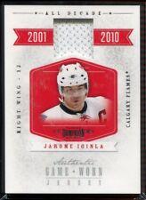 2010-11 Dominion All Decade Jerseys JI Jarome Iginla Jersey 72/99