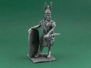Pewter figurines. Carthaginian general Hannibal Barca. Scale is 1/32