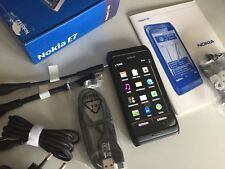 Nokia  E7-00 - Schwarz (ohne Simlock) Smartphone unbenutzt!!!