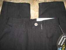 New w/ tag junior 1/2  medium ROCKIES black PANTS  trouser ladies jr PLEATED