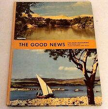 The New Testament Good News Over 500 Illustrations American Bible Society 1957