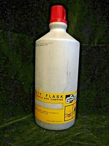 Vintage 1970's Markill Aluminum Screw Top Fuel Bottle for Backpacking or Camping