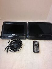 "Sylvania SDVD9805 In Car Dual 9"" Portable DVD Players 9805-MB1"