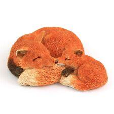 Miniature Fairy Garden Sleeping Mama Red Fox with Baby 4278 /Figurine