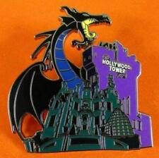 Disney Pin WDW Maleficent at Haunted Mansion & Tower Terror Story book Night