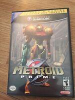 Metroid Prime Nintendo GameCube Game Works Great Nice NG6