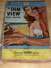 THE DIM VIEW BY BASIL HEATTER (PAPERBACK 1948) PENGUIN
