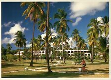 "Jolly Beach Hotel, Antigua West Indies Caribbean, Trees - Large 5"" x 7"" Postcard"