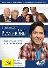 Everybody Loves Raymond: Season 9 (DVD, 4 Discs) Region 4 - VGC