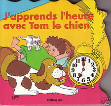 J 'Learn L'Heure with Tom the Dog ~Ty Store Excl ~New 1992 Takaba