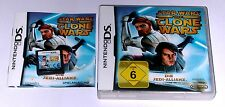 Spiel: STAR WARS THE CLONE WARS JEDI ALLIANZ für Nintendo DS + Lite + 3DS + 2DS