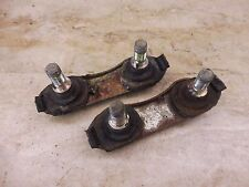1974 Yamaha RD350 RD250 RD 350 Y646' front foot peg mount bolts parts