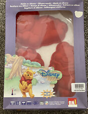 Set of 3 Silicone Winnie The Pooh Cake Moulds (D5.GA)