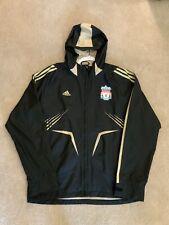 Adidas 2008 Liverpool FC Champions League Rain Jacket Sz M *GREAT*