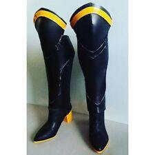 Custom Made Overwatch Angela Ziegler Mercy Cosplay Boots for Sale