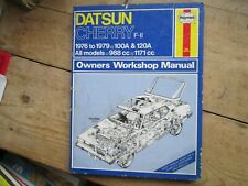 DATSUN CHERRY F -11 1976 TO 1979 100A & 120A ALL MODELS HAYNES MANUAL