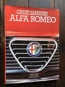 1985 GREAT MARQUES ALFA ROMEO DAVID OWEN HCDJ 105 GTV Giulia Alfetta Spyder 2000