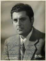 Opera - Autografo del baritono Antonio Salsedo