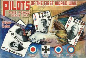 Dark Dream Studios 1/72 Pilots Of The First World War