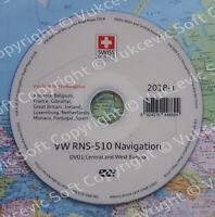 West RNS-510 WV Navigation DVD 2018