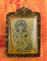 Amuleto Tailandese Paul Khik IN Koo Mae Eper Metta Kali Attrazione, Fortune 2170